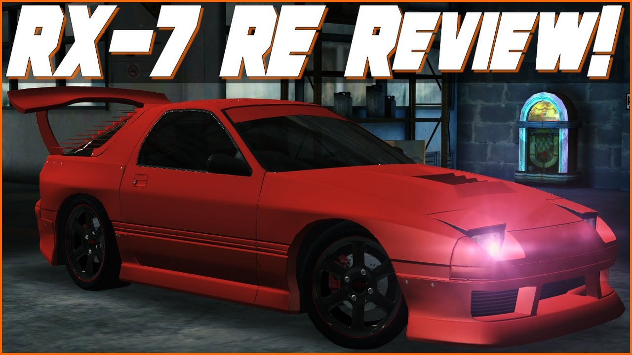Mazda RX 7 RE First Look! | Racing Rivals Car Reviews