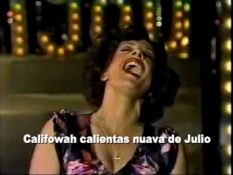 Patti LuPone - Buenos Aires (with subtitles)