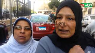بالفيديو.. وقفة احتجاجية للعاملين بمستشفى