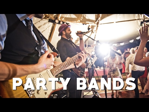 Party Bands available to Hire at Warble Entertainment for Weddings & Events