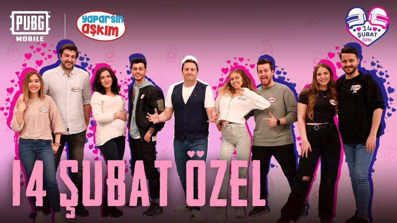 PUBG MOBILE x Yaparsın Aşkım 14 Şubat Özel Bölümü! @Alper Rende @TUGAY GÖK @Vural Üzül @İpek İnan