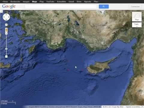 العثور على مكان المسيح الدجال عبر maps.google.com