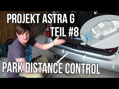 projekt astra g teil 8 pdc park distance control german deutsch youtube. Black Bedroom Furniture Sets. Home Design Ideas