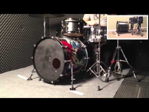 KB512 - Bass Drum Ancohors Set - Max 10mm(x2) video
