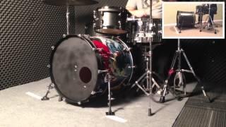 KB512 - Bass Drum Ancohors Set - Max 10mm(x2) video