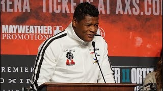 """Heavyweight Luis Ortiz on Wilder """"It Was a Fatigue Stoppage and I've fixed that this time around"""""""