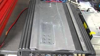 S373 アルパイン ALPINE MRV-F407 パワーアンプ ウーハー