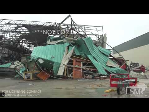 10-10-2018 Panama City Beach, Fl destruction and aftermath after Hurricane Michael
