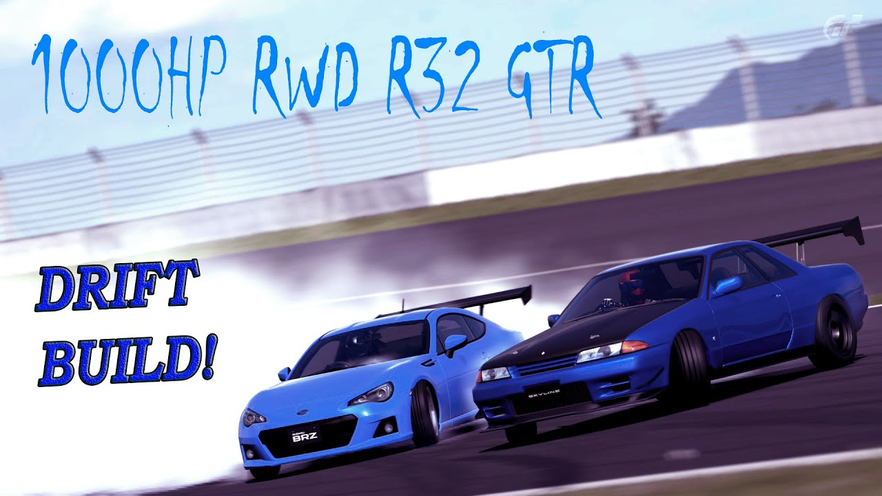 1000 Hp Gtr >> Gran Turismo 6 Build - D1GP/FD RWD R32 GTR 1000+HP! - YouTube