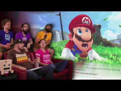 Super Mario Odyssey!   E3 2017 AWESOME!