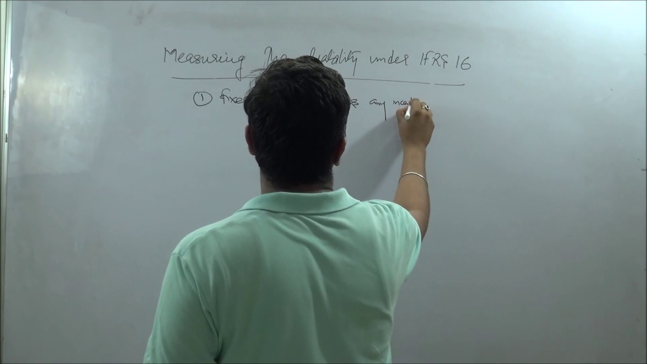 the and measurement of leases Deferred profit, measured as the difference between the gross residual asset and the allocation of the carrying amount of the underlying asset the boards tentatively decided that the following are the only variable lease payments to be included in the measurement of the lease liability or receivable.