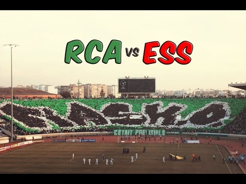 Ultras Eagles : Tifo & Ambiance Du Match Raja Vs Ess