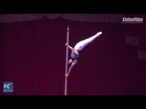 Stunning acrobatics at International Circus Festival in Zhuhai, China
