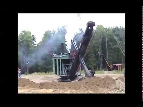 Fast Steam Shovel - Erie B at Brownsville 2001