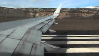 Takeoff from Eagle/Vail Colorado (EGE) bound for Miami International Airport (MIA)