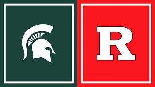 First Half Highlights: Rutgers at Michigan State | B1G Basketball