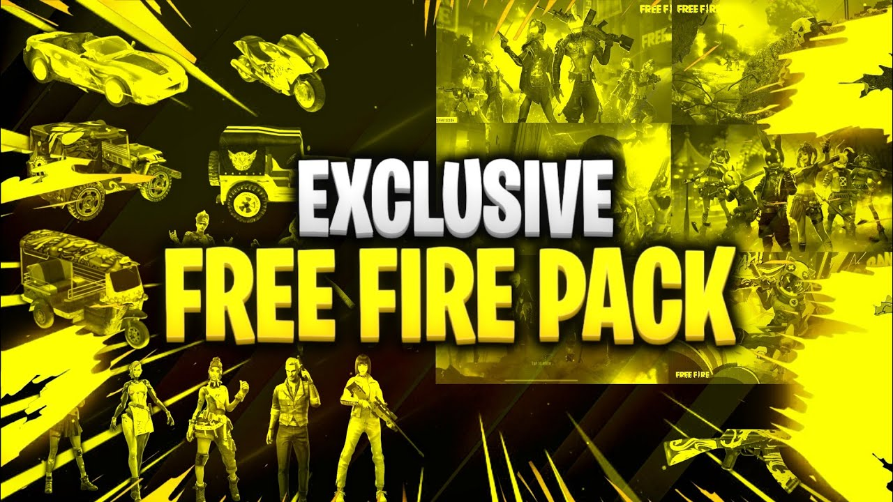 Exclusive Free Fire Pack   Best Free Fire GFX Pack   By Aquas Brain