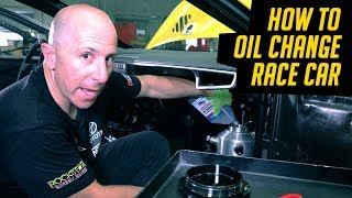 How To Change Oil and Filter on a Race Car With Tips You Can Use