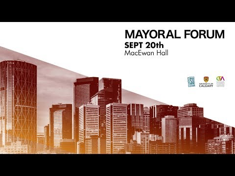Mayoral Forum - September 20