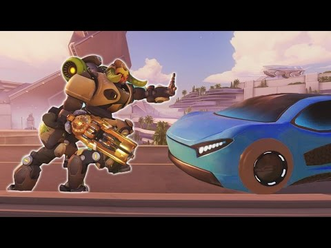 Thumbnail: Overwatch - Orisa the Traffic Controller