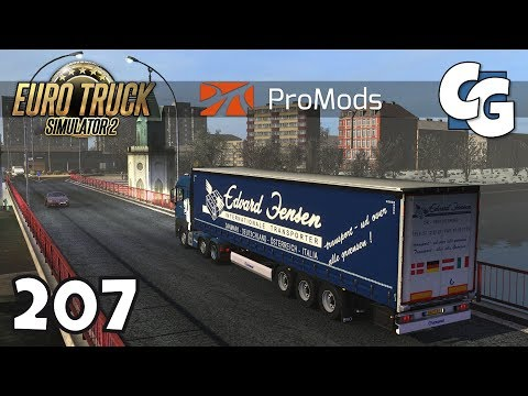 ETS2 - Ep. 207 - Kaliningrad - ETS2 ProMods 2.25 Gameplay