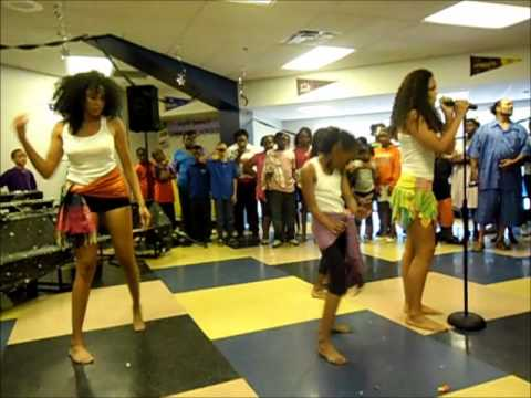 Jasmine Rhey Performs Live at Kipp Impact Middle School