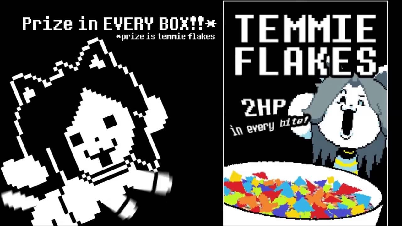 temmie flakes
