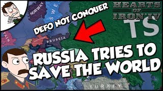 Russia Tries to Save the World Hearts of Iron 4 in the Name of the Tsar Mod