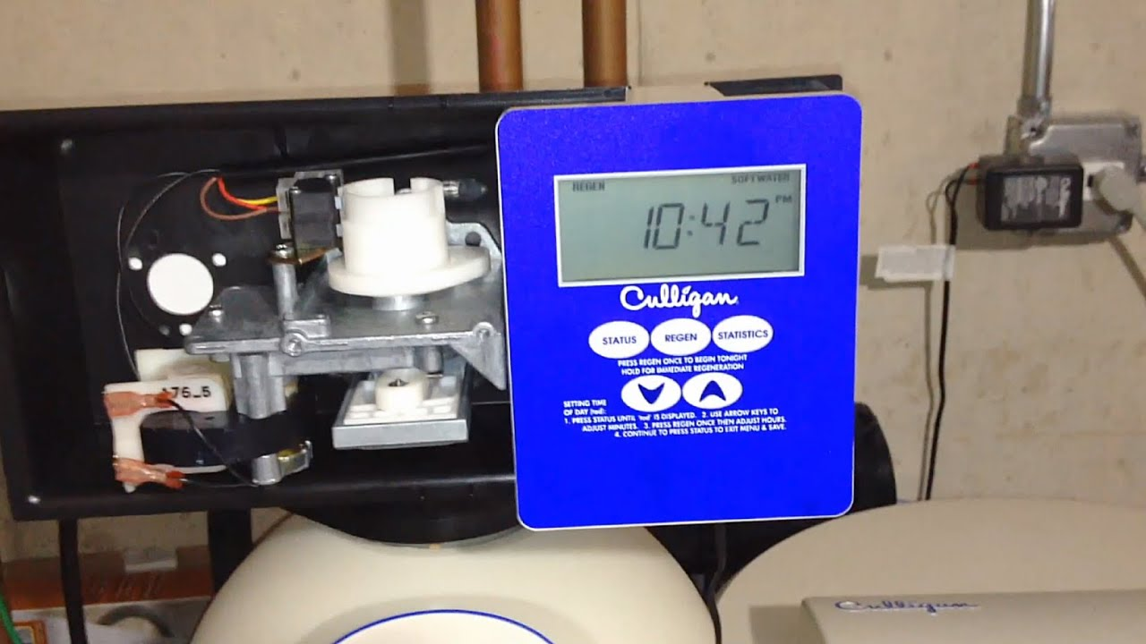 Culligan Gold Series Water Softener Repair You