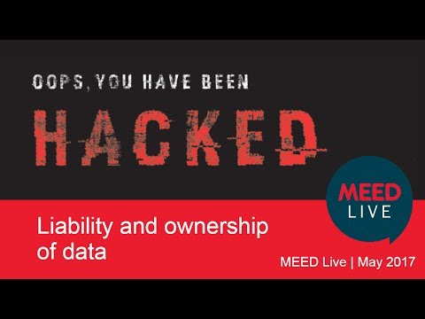 Liability and ownership of data | MEED Live May 2017