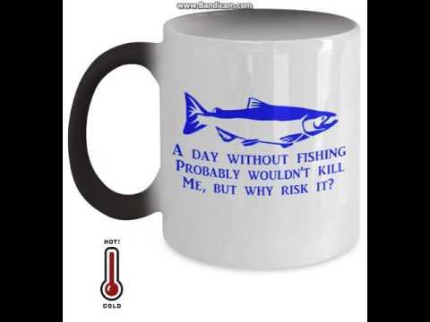 Custom Changing Fishing Mug