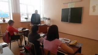 Мукминов Н.А. урок русского языка 5 класс
