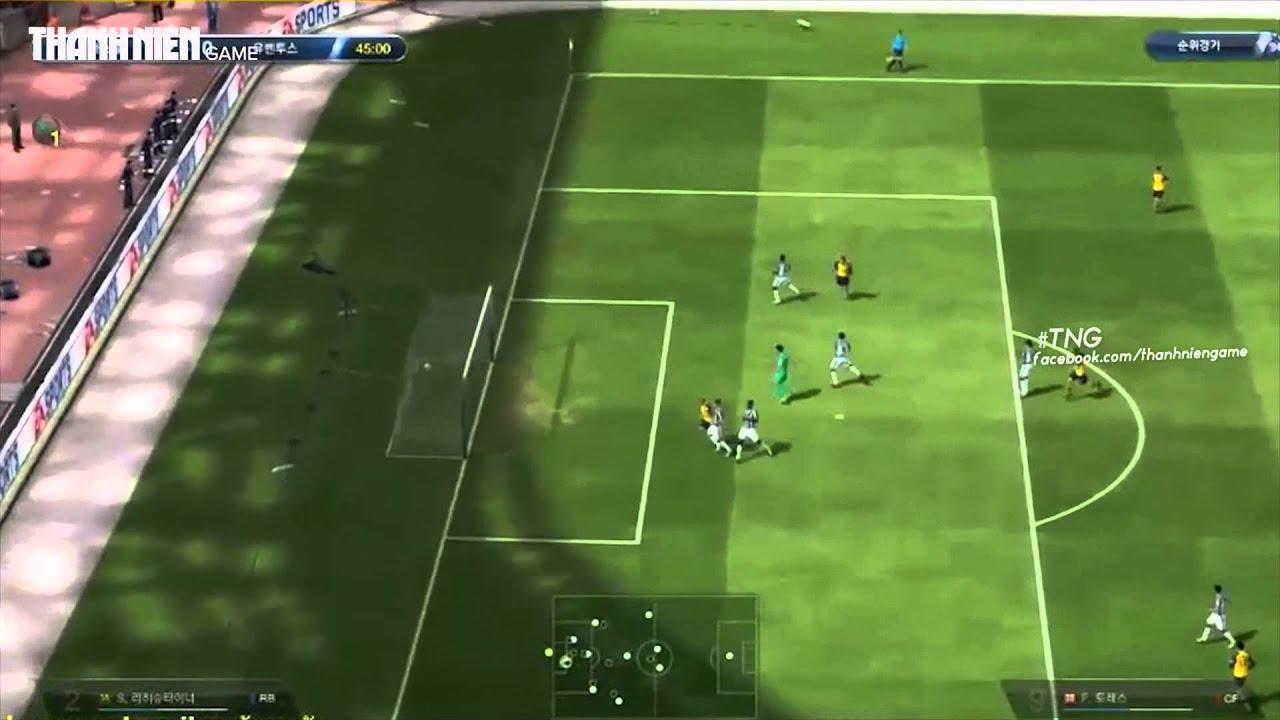 Fifa Online 3 Khả năng tì đè của Torres E08?