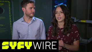 Agents of SHIELD Cast on the New Character Deke | SYFY WIRE