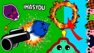 MOPE.IO FASTEST ANIMAL BOOST COMBO !?! // QUICKEST OCEAN TO OCEAN RECORD !! - iHASYOU