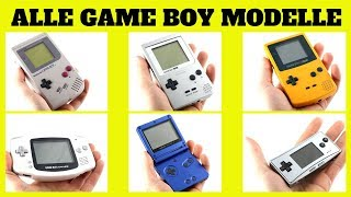 Alle Gameboy Modelle ! Game Boy Classic, Pocket, Advance, Advance SP, Micro | AGS 101 | 90er Jahre