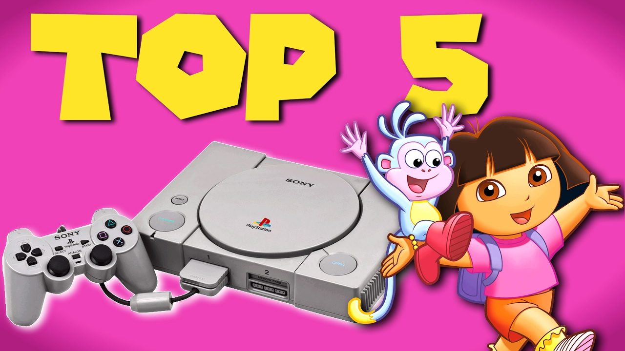 Top Five Educational Video Games For Kids Playstation