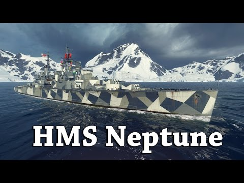 WoWS: The HMS Neptune Preview