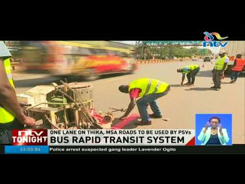Bus Rapid Transit system to ease traffic in Nairobi