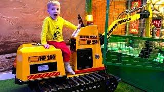 Excavator for kids Trucks for children Kids videos  Car toys  Songs for baby