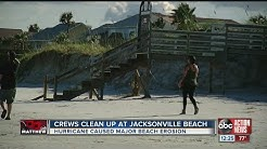 Jacksonville Beach clean up