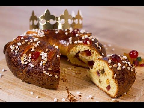 Couronne des rois aux fruits confits youtube - Decoration couronne des rois ...