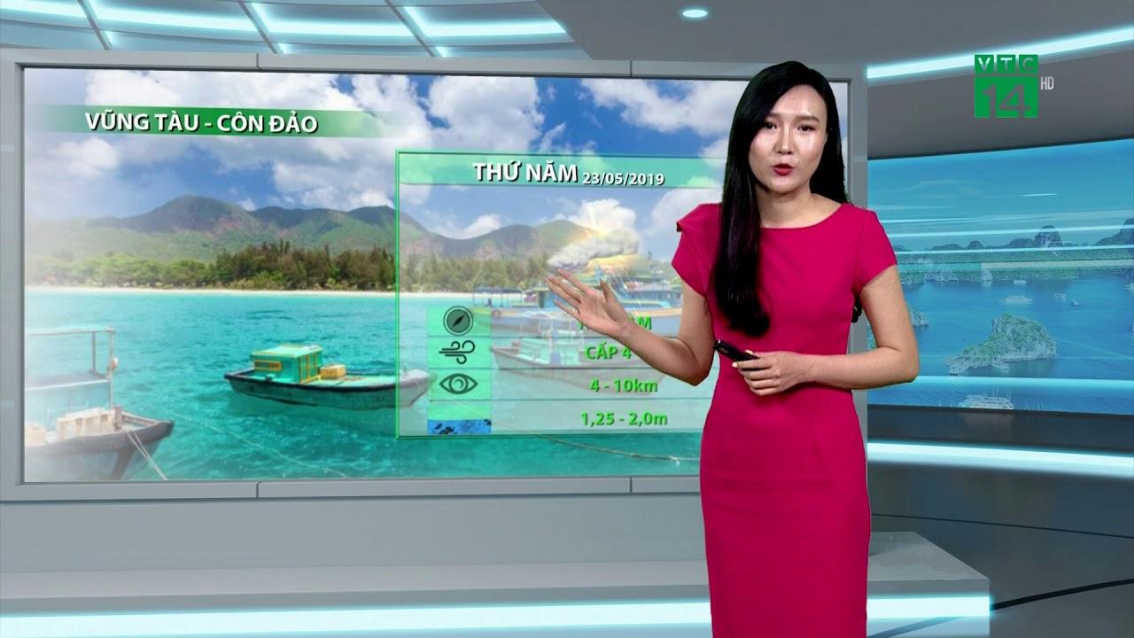 Thời tiết biển 23/05/2019: Vịnh Bắc bộ êm ả trở lại | VTC14