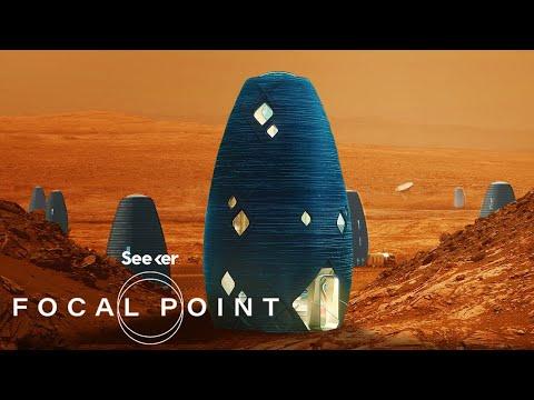 NASA's Challenge To 3D Print Future Habitats On Mars