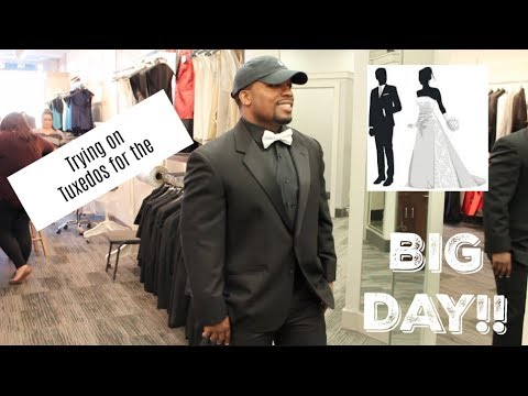 TRING ON TUXEDOS: Journey To I Do| WE'RE GETTING MARRIED (Msnaturallymary)