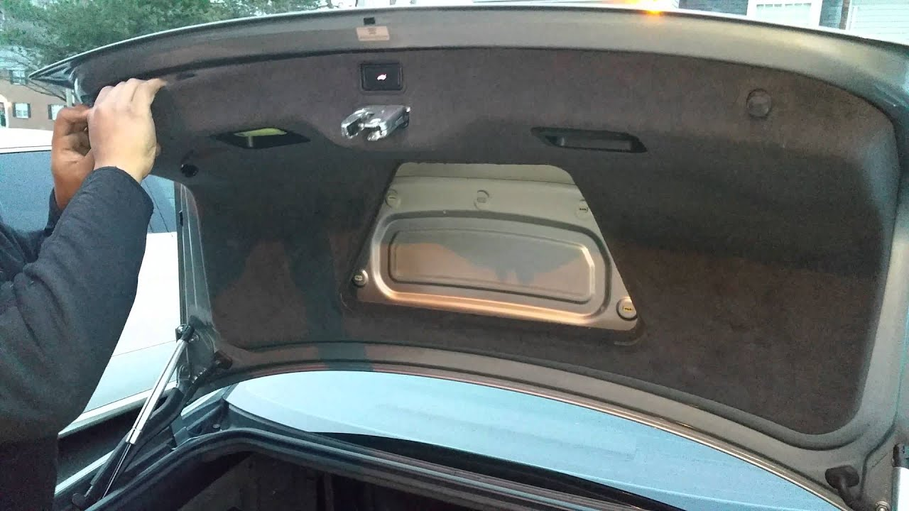 2004 acura tl trunk latch [ 1920 x 1080 Pixel ]