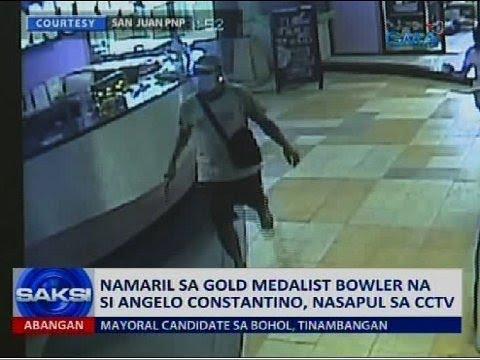 Namaril sa gold medalist bowler na si Angelo Constantino, nasapul sa CCTV