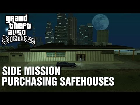 GTA: San Andreas - Side-Mission - Purchasing Safehouses