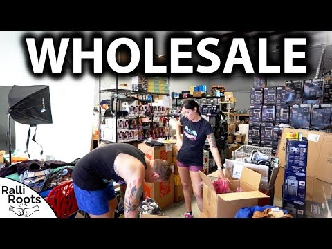Wholesale & Shipping - Typical Workday at our Warehouse (eBay & Amazon Sellers)