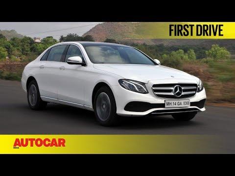 Mercedes-Benz E220d | First Drive | Autocar India